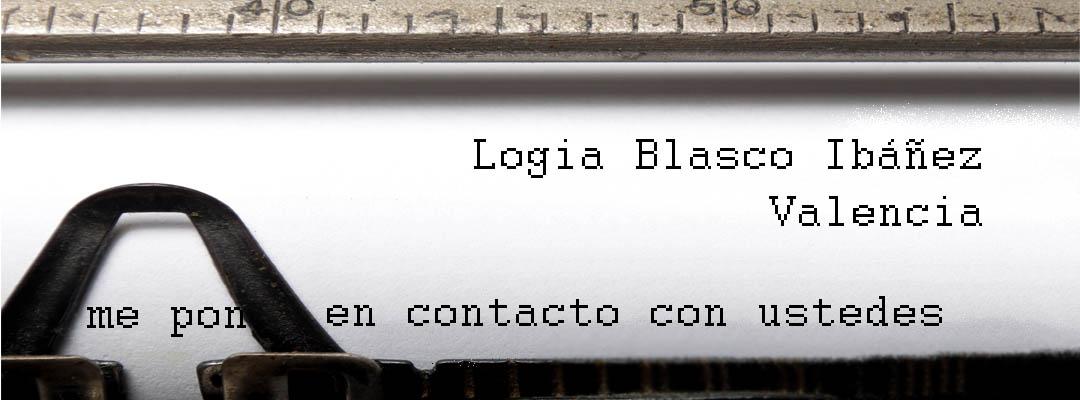 Logia Blasco Ibáñez Valencia - Contactar