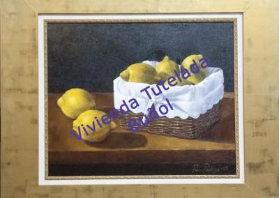 Cesta con limones